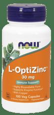 Now Foods L-オプティジンク 30 mg 100 ベジカプセル