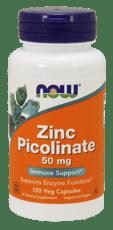 Now Foods ピコリン酸亜鉛 50 mg 120 ベジカプセル