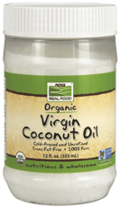 Now Foods Real Food Organic Virgin Coconut Oil 355 ml