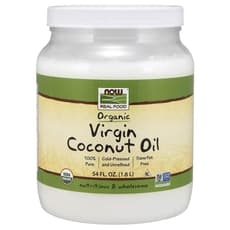 Now Foods Real Food Organic Virgin Coconut Oil 1.6 L