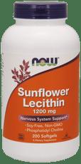 Now Foods サンフラワーレシチン 1,200 mg 200ソフトジェル