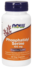 Now Foods ホスファチジルセリン 100 mg 60ベジカプセル