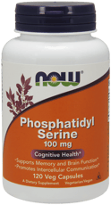 Now Foods ホスファチジルセリン 100 mg 120 ベジカプセル