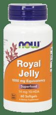 Now Foods ローヤルゼリー1,000 mg 60ソフトジェル