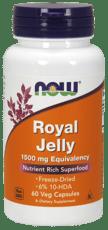 Now Foods ローヤルゼリー 1,500 mg 60ベジカプセル