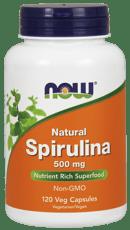 Now Foods スピルリナ 500 mg 120ベジカプセル