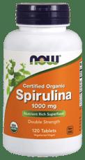 Now Foods オーガニックスピルリナ 1,000 mg 120錠