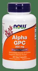 Now Foods アルファ GPC 300 mg 60 ベジカプセル