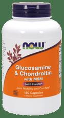 Now Foods グルコサミン&コンドロイチン MSM配合 180錠