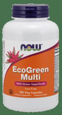 Now Foods エコグリーンマルチ 180ベジカプセル