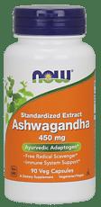 Now Foods  標準化されたエキスアシュワガンダ 450 mg 90ベジカプセル