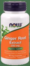 Now Foods ショウガ根エキス 250 mg 90ベジカプセル