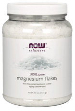 Now Foods 溶液 マグネシウム フレーク 純粋 1.53 kg