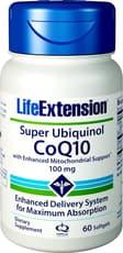 Life Extension スーパーユビキタスキノールコエンザイム 100 mg 60ソフトジェル