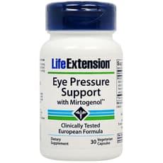 Life Extension 眼圧サポート with ミルトジェノール 30ベジカプセル