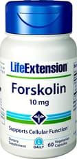 Life Extensions フォースコリン 10 mg 60ベジカプセル