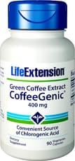 Life Extension コーヒージニック グリーンコーヒーエキス 400 mg 90ベジカプセル
