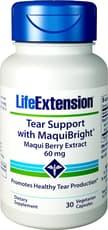 Life Extension ティアサポート with マキブライト 60 mg 30ベジカプセル