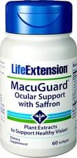 Life Extension マキュガード オキュラーサポート アイヘルス フォーミュラ 60 ソフトジェル