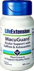 Life Extension メキュガードオキュラサポート With アスタキサンチン 60ソフトジェル