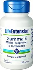 Life Extension ガンマEミックストコフェノール&トコトリエノール 60ソフトジェル