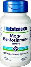 Life Extension メガ ベンフォチアミン 250 mg 120ベジカプセル