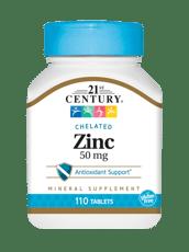 21st Century 亜鉛 50 mg 110錠
