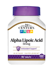 21st Century アルファリポ酸 50 mg 90錠