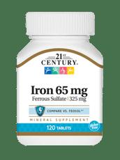 21st Century 鉄 65 mg 120錠