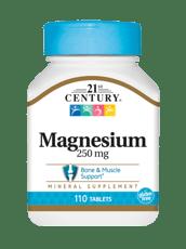 21st Century マグネシウム 250 mg 110錠
