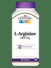 21st Century L-アルギニン 1,000 mg 100錠