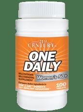 21st Century 1日1回 女性用 50+ マルチビタミン 100錠