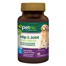 petnc Natural Care Hip & Joint Daily Health Level 1 60 Chewables