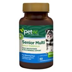 Petnc Natural Care シニアマルチデイリーフォーミュラ 犬用マルチビタミン 60個入り