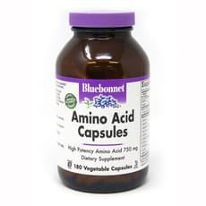 Bluebonnet Nutrition アミノ酸 750 mg 180 ベジカプセル