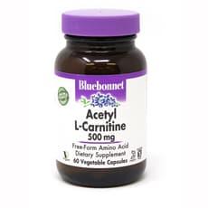 Bluebonnet Nutrition アセチルL-カルニチン 500 mg  60ベジカプセル