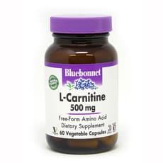 Bluebonnet Nutrition L-カルニチン 500 mg 60ベジカプセル