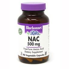 Bluebonnet Nutrition NAC 500mg 90ベジカプセル