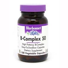 Bluebonnet Nutrition B-Complex 50 100 Veg Capsules