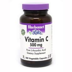 Bluebonnet Nutrition ビタミンC 500mg 180ベジカプセル