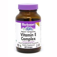 Bluebonnet Nutrition ビタミンEコンプレックス 60リキッドカプセル