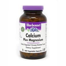 Bluebonnet Nutrition カルシウムプラスマグネシウム 180ベジカプセル