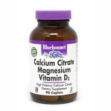 Bluebonnet Nutrition クエン酸カルシウムマグネシウムプラスビタミンD3 90錠