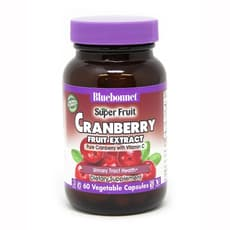 Bluebonnet Nutrition スーパーフルーツクランベリーフルーツエキス 60ベジカプセル