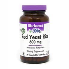 Bluebonnet Nutrition 赤米酵母 600mg 120ベジカプセル