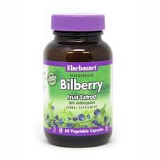 Bluebonnet Nutrition 標準化 ビルベリー フルーツエキス 60 ベジカプセル