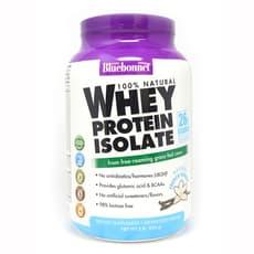 Bluebonnet Nutrition Whey Protein Isolate Powder Vanilla 2 lb