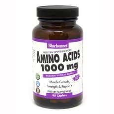 Bluebonnet Nutrition アミノ酸 1,000 mg 90 カプレット