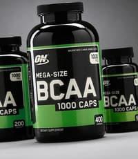 Optimum Nutrition メガサイズ BCAA 1,000 mg  200 カプセル