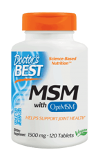 Doctor\'s Best MSM 1500 mg 120タブレット